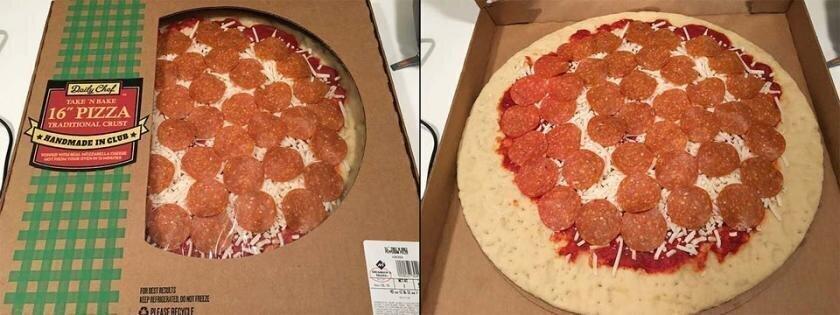 Хитрая коробка для пиццы