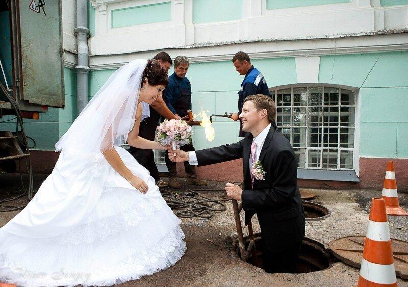 Ох уж эти свадебные фотосессии!