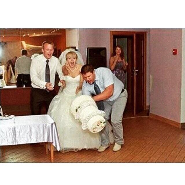 Свадьбу они точно запомнят навсегда