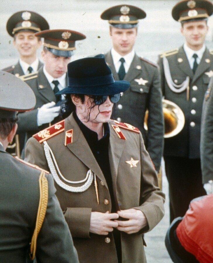 Майкл Джексон в Москве в 1993 году