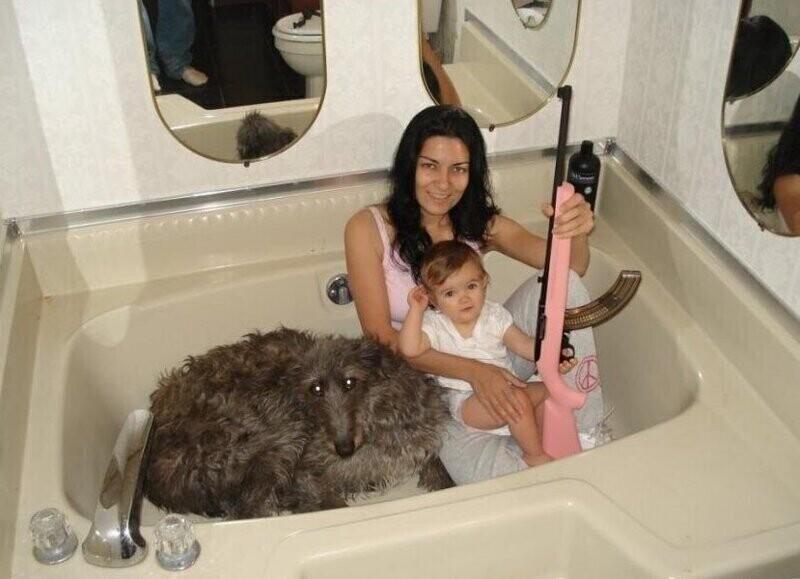Ничего такого, просто ванна
