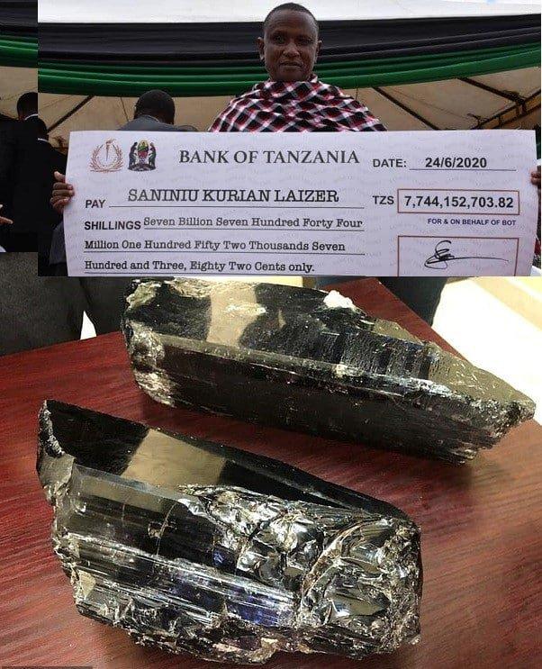 Супермногодетному танзанийцу удалось откопать настоящее сокровище