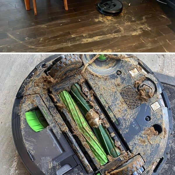 Мне говорили, что робот-пылесос необходимая вещь в хозяйстве