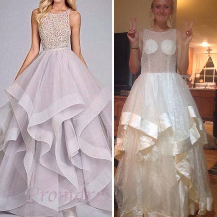 Классика - платье на выпускной!