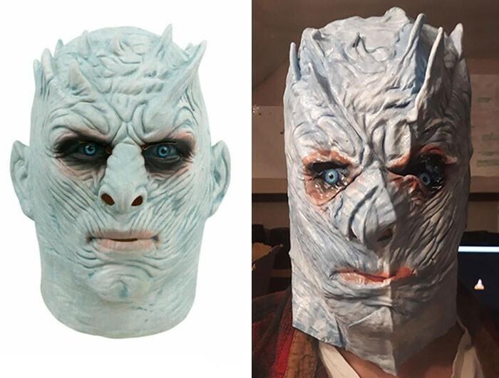 """""""Купил на eBay маску Короля Ночи"""""""