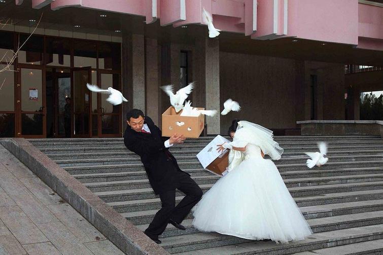 Русские свадьбы - веселые и беспощадные
