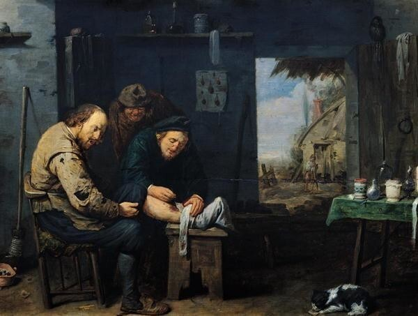 Деревенский хирург, 1638 год