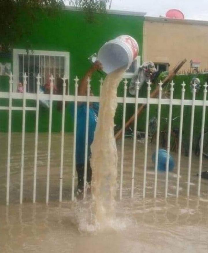 Спасаемся от наводнения