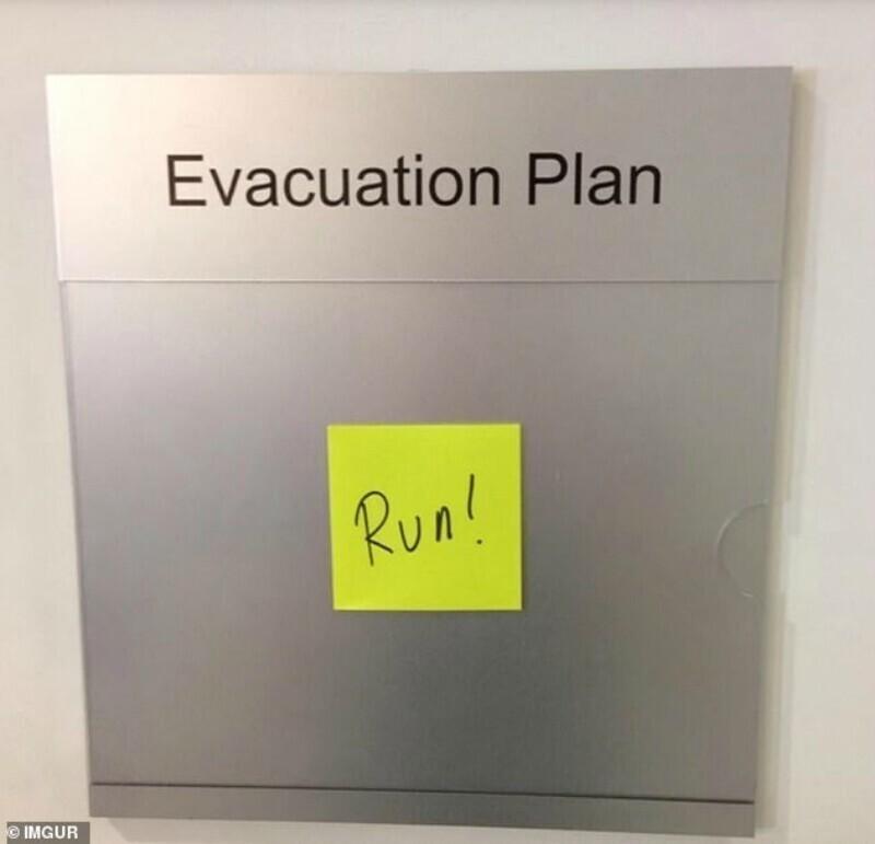 "План эвакуации: ""Бегите!"""
