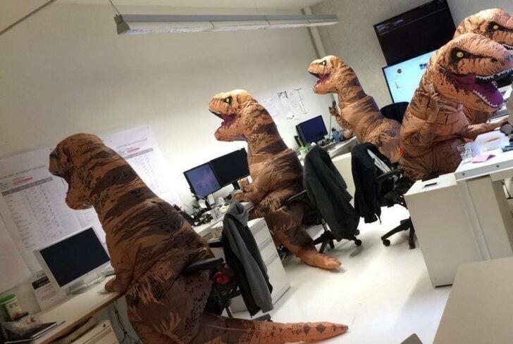 Просто один из рабочих дней Кафедры палеонтологии