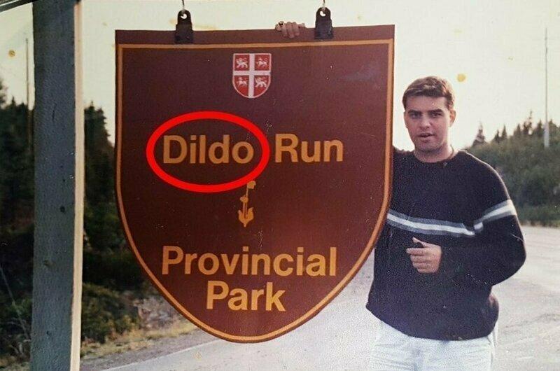 Этот парень специально сделал фото с гербом парка, ведь знал, что никто не поверит ему