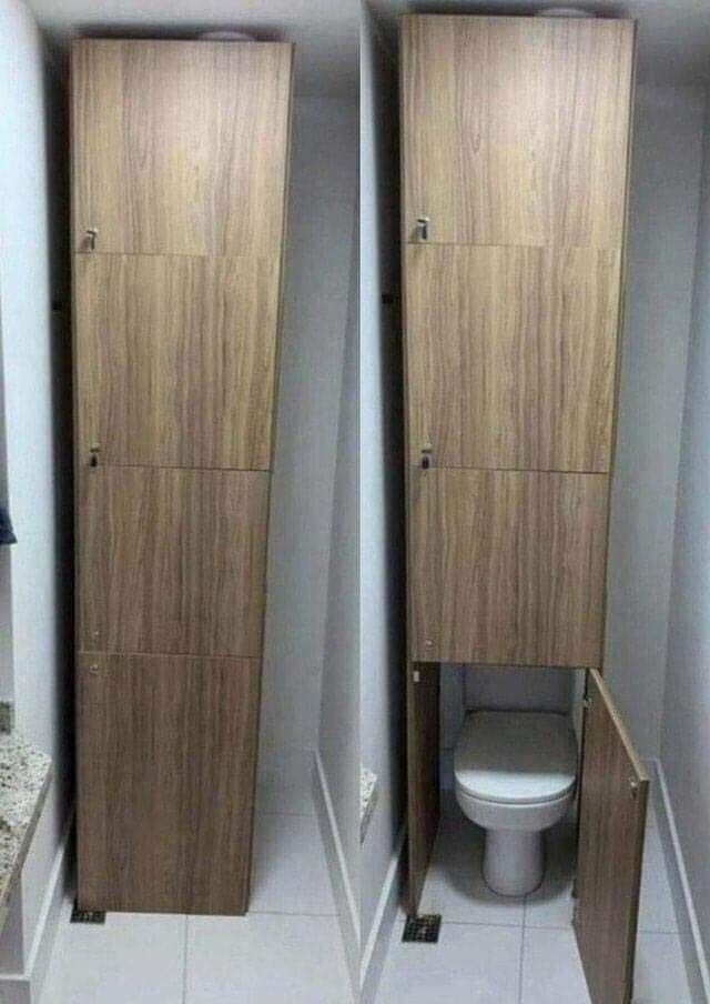 Туалеты для клаустрофобов