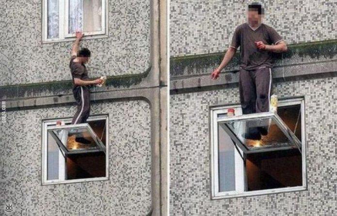 """Миссия: """"Помыть окна и выжить"""""""