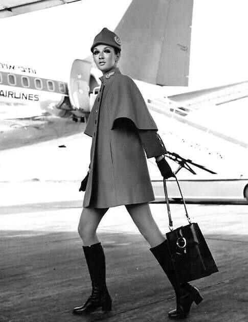 Стюардесса израильской авиакомпании, 1960-е