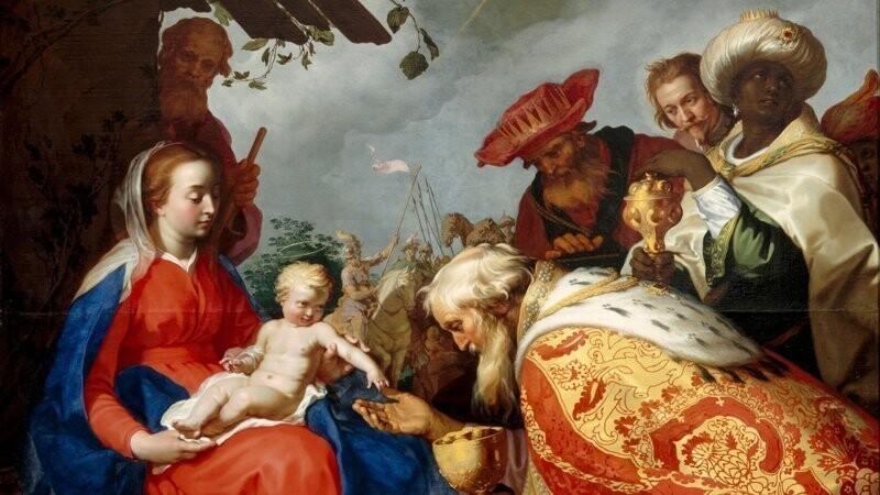 Трое Волхвов, которые по легенде принесли дары новорождённому Христу, были представителями персидского племени Маги. Люди этого племени славились как могущественные священники, проповедовавшие зороастризм