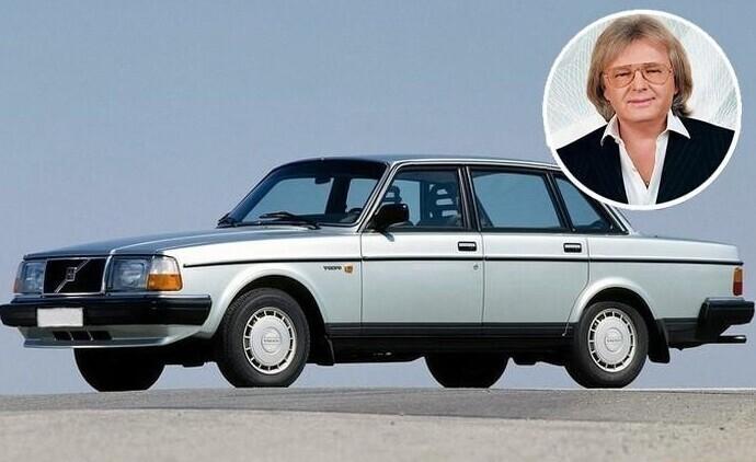 Юрий Антонов приобрел в 1984 г. автомобиль VOLVO 244