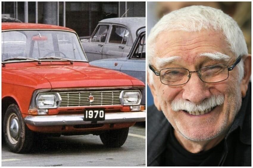 """Армен Джигарханян приобрел себе автомобиль 412-й """"Москвич"""" и долгое время ездил исключительно на нем"""