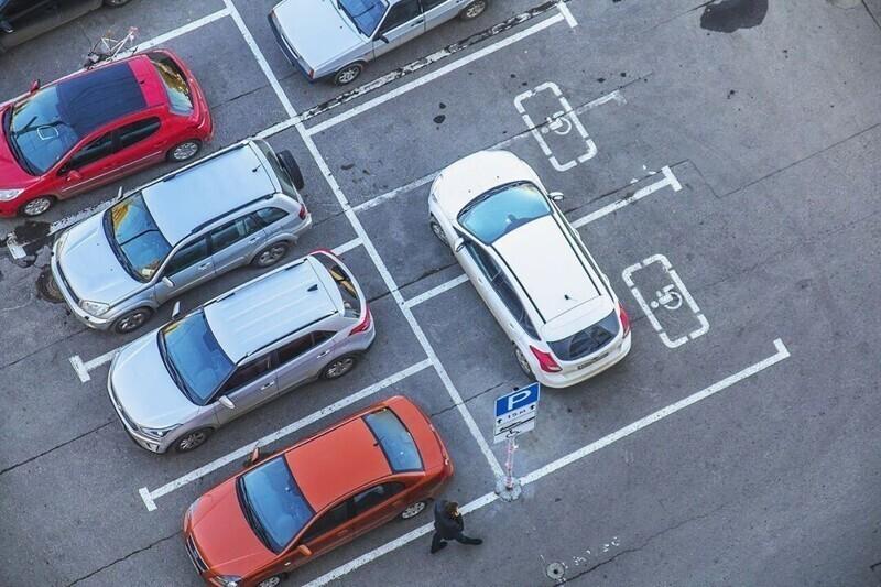 Я паркуюсь как...