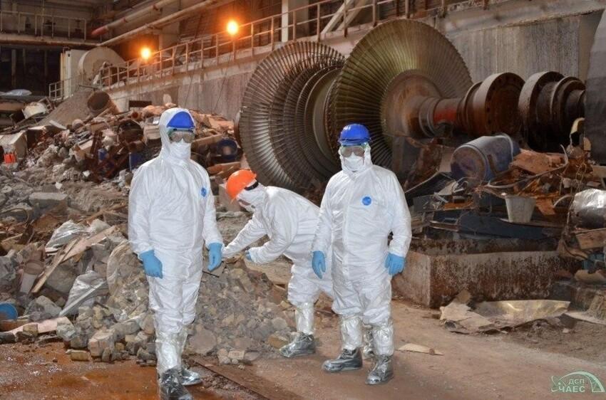 И ребята, работающие в Чернобыле