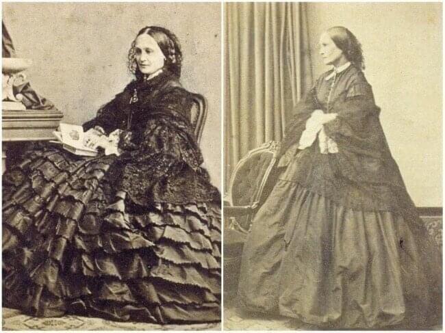 Наталья Гончарова - вдова А.С. Пушкина, Ницца, 1863 год