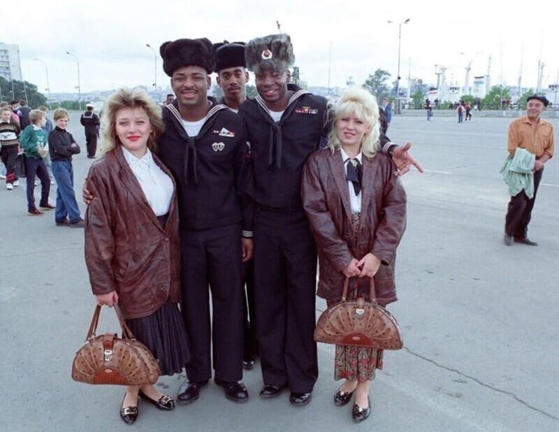 Фото из Владивостока, 1992 год