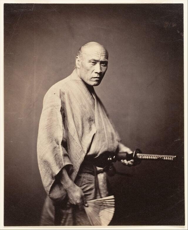 Японский самурай, 1866 год