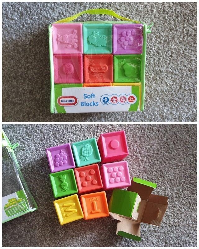 Один кубик оказался обманкой