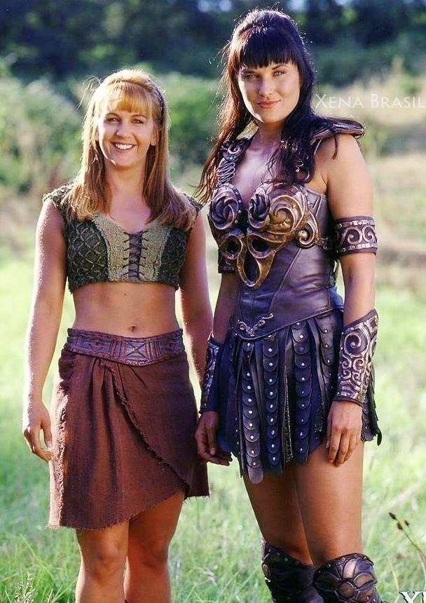 И напоследок - Габриэль и Зена, королева воинов