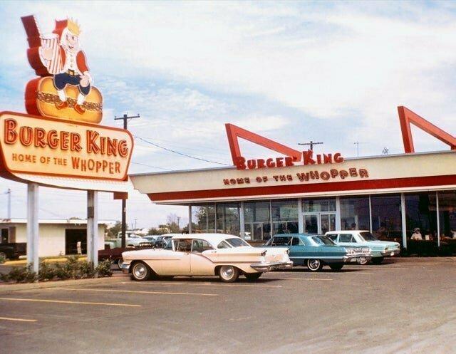 Так выглядел Бургер Кинг в 1960-х