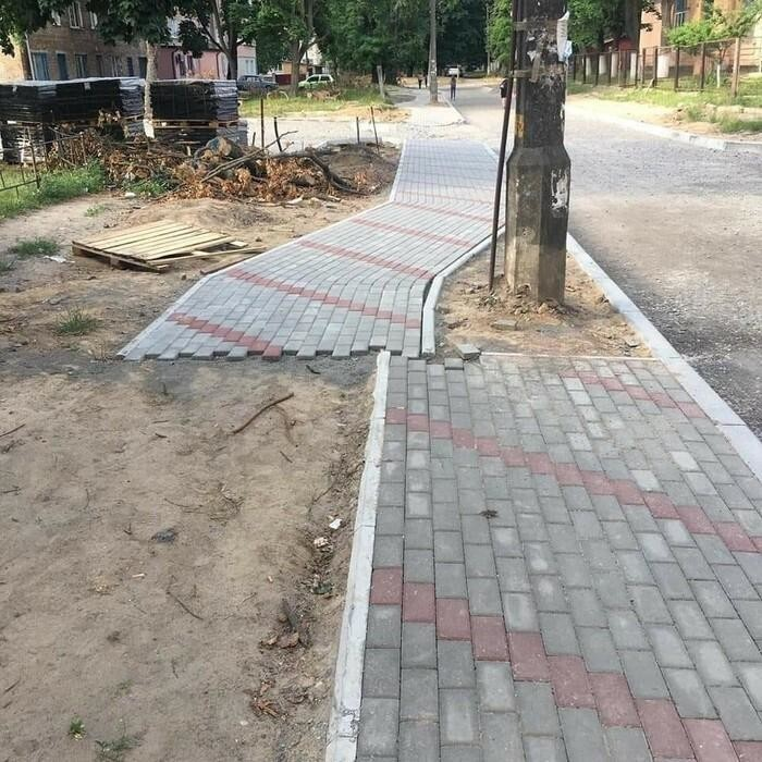 Тротуары, которые нас удивили