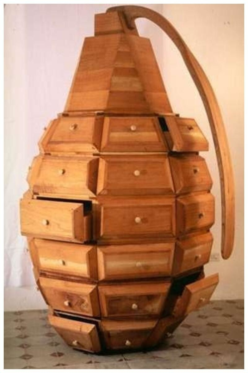А может деревянная, но весьма необычная