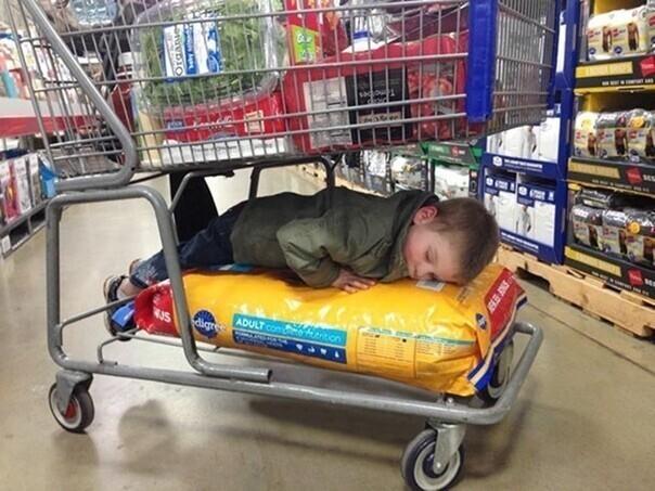 Походы по магазинам утомляют