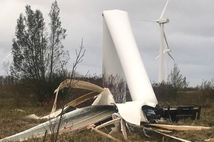 И у ветряков бывают несчастья
