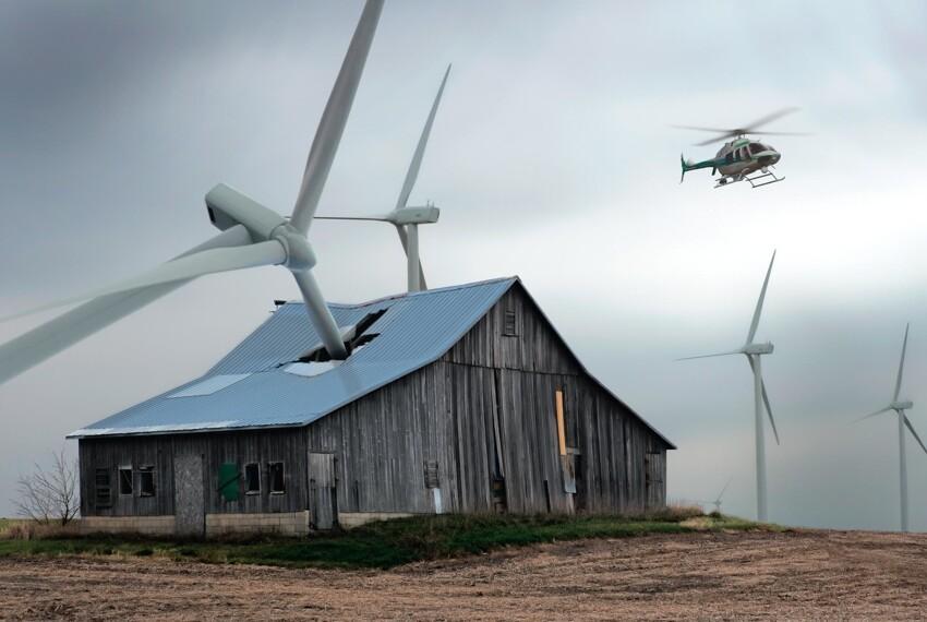Ветрогенераторы изымают часть кинетической энергии движущихся воздушных масс, что приводит к снижению скорости их движения. При массовом использовании ветряков (например, в Европе) это замедление теоретически может оказывать заметное влияние на локал