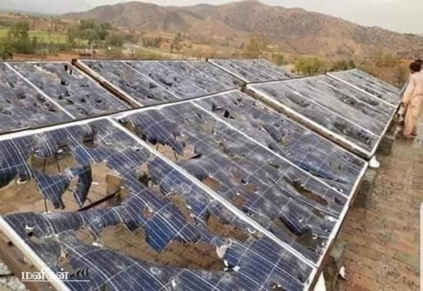 И еще немного из жизни солнечных панелей