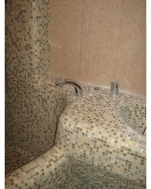 Теперь ванная максимально функциональна, ни один см комнаты не пропал даром
