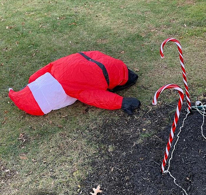 Санта сдулся