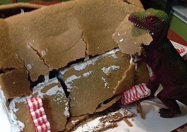 Развалился пряничный домик?