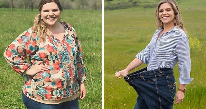 Девушка похудела вдвое очень простым и приятным способом