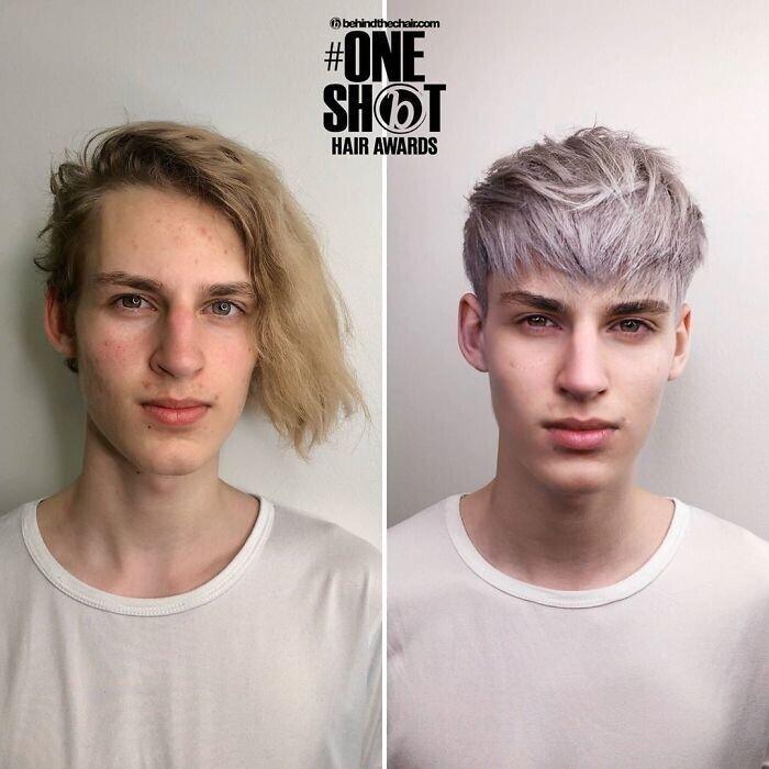 Когда парикмахер не подкачал