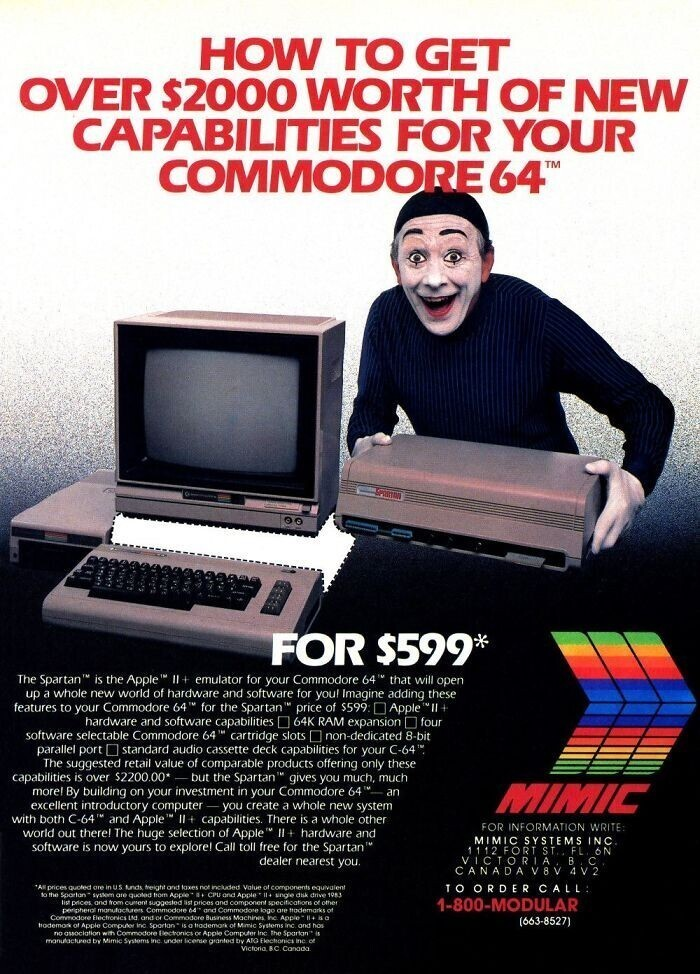 Компьютер Apple II - $599