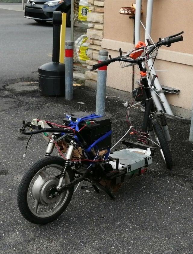 Как вам такой велосипед?