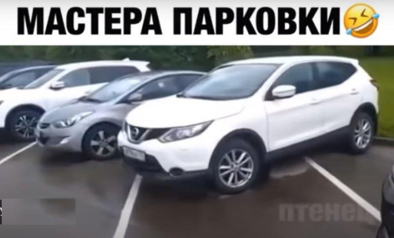 Как паркуются москвичи