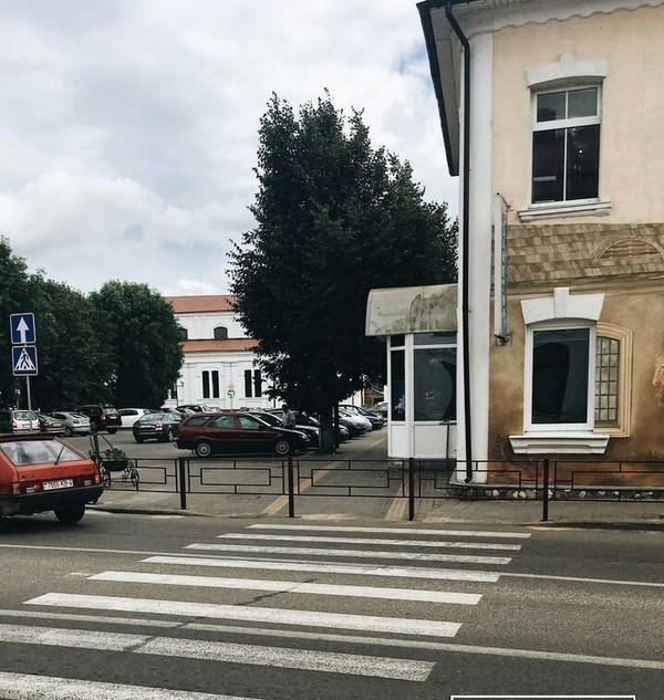 Пешеходный переход в Беларуси и...