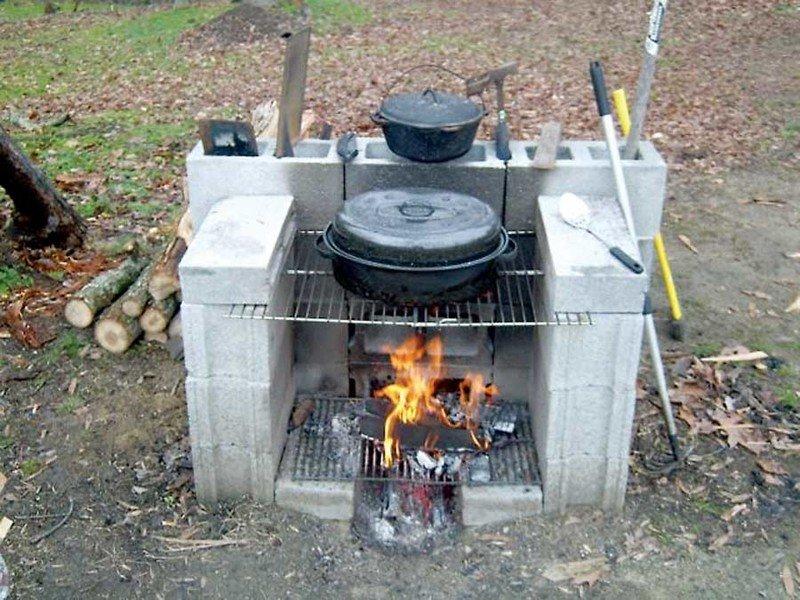 Или соорудить полноценную печь
