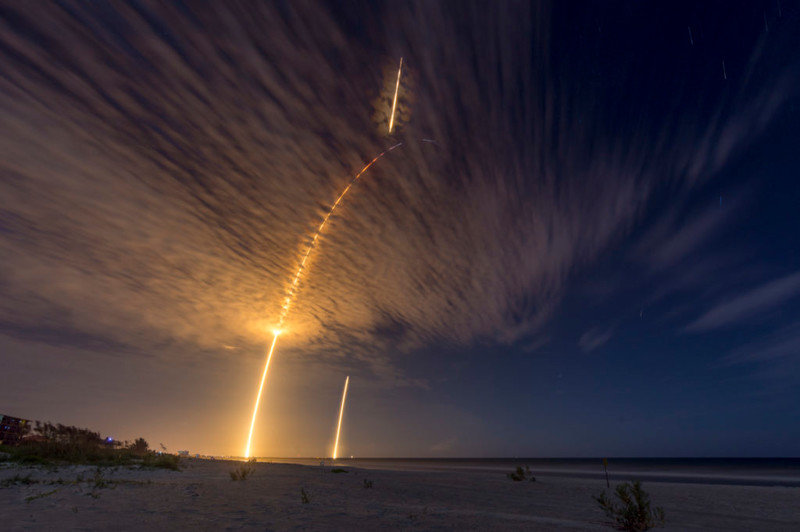 Взлет ракет