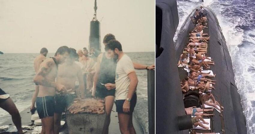 Как живется на субмарине и людям с субмариной