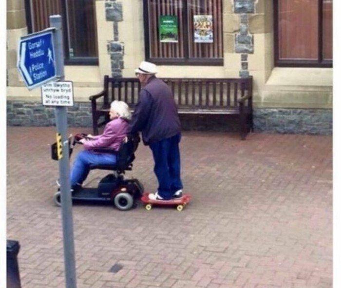 Пенсионеры на выезде