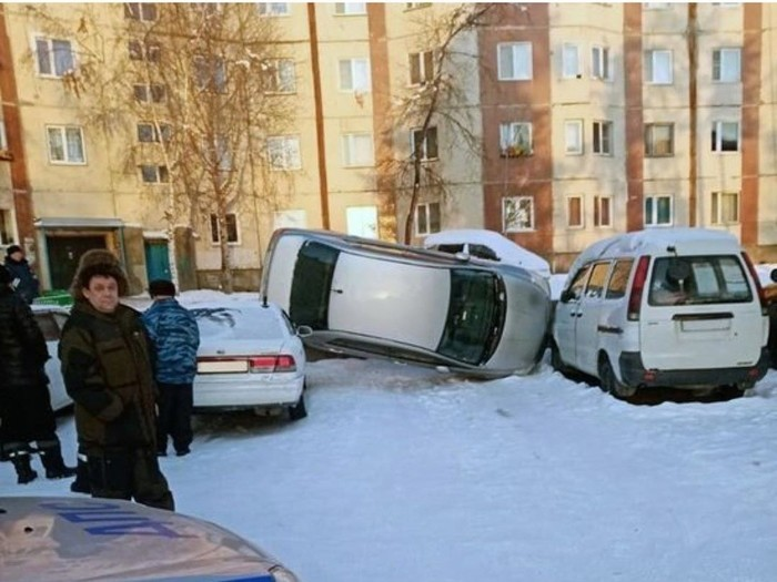Но ведь припарковался?