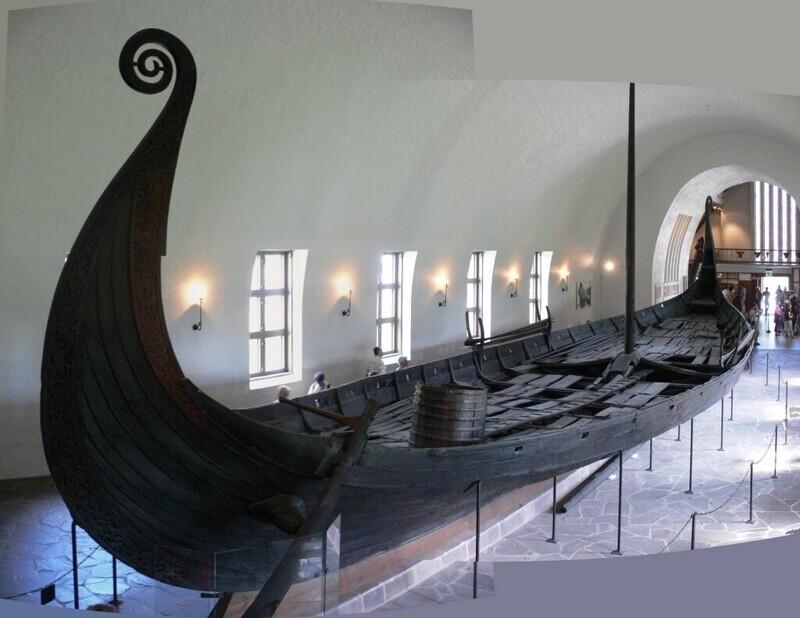 Самый длинный в истории драккар викингов был обнаружен случайно во время ремонта датского музея кораблей